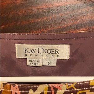 Kay Unger Dresses - Kay Unger shoes dress